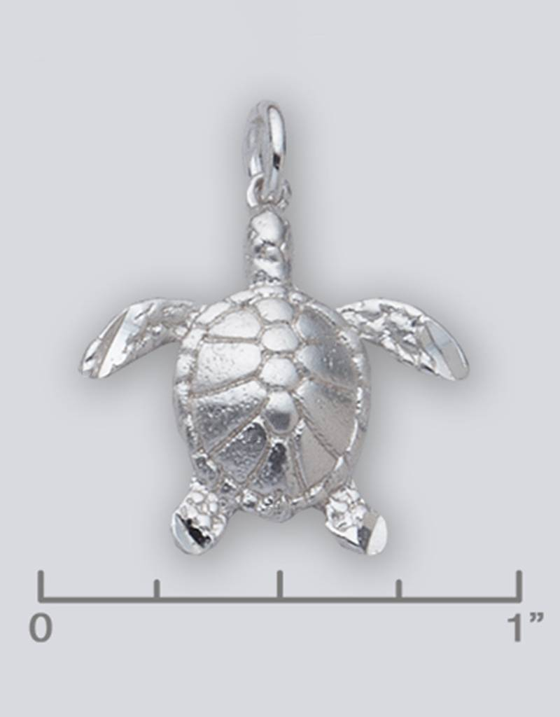 AZU Sea Turtle Charm 21mm