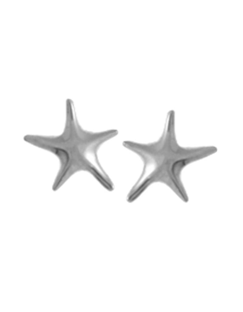 Starfish Stud Earrings 7mm