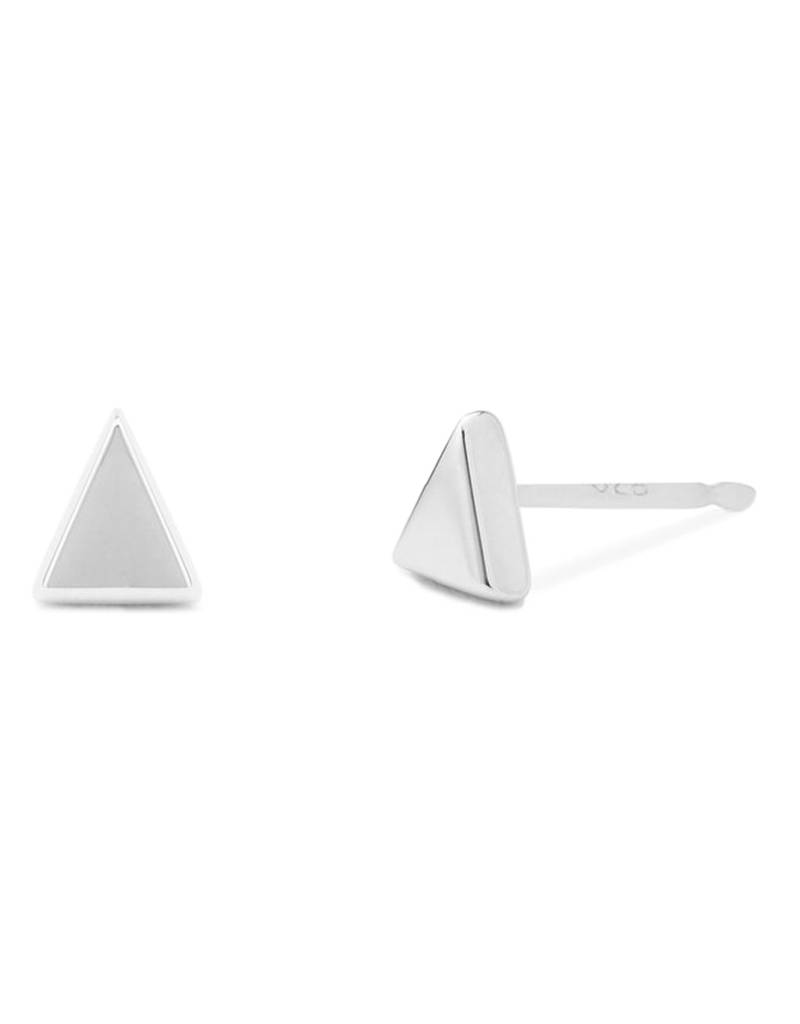 Triangle Stud Earrings 5mm