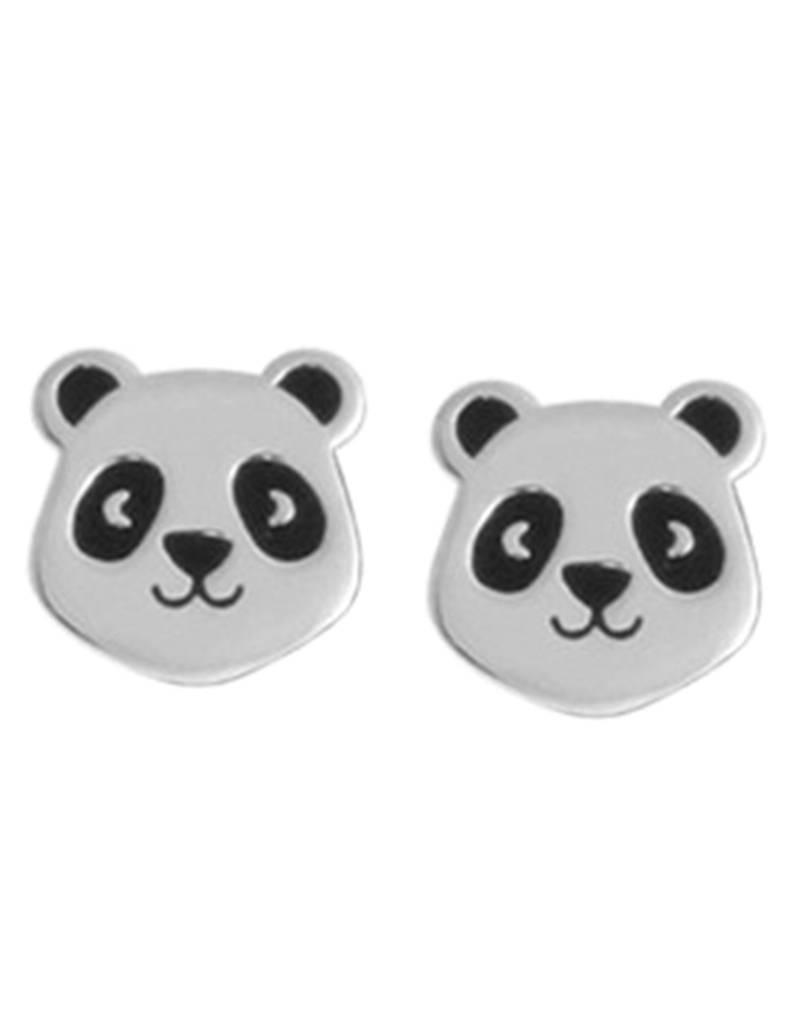 Panda Stud Earrings 8mm