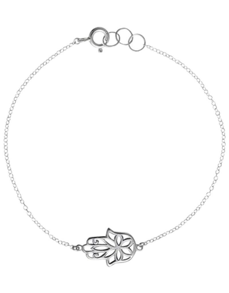 """Hamsa Bracelet 7.5"""""""