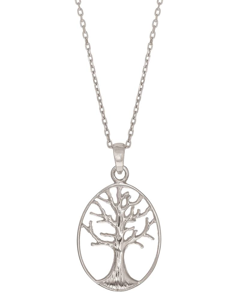 """Tree of Life Necklace 18"""""""