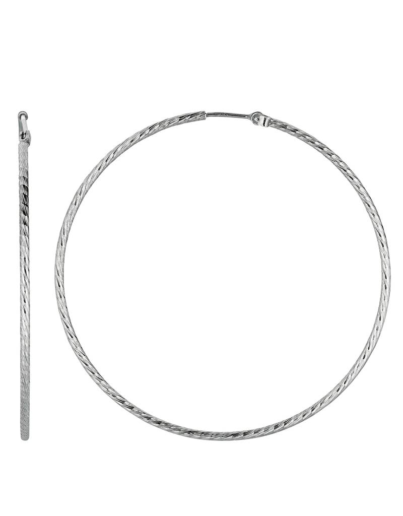 55mm D/C Hoop Earrings