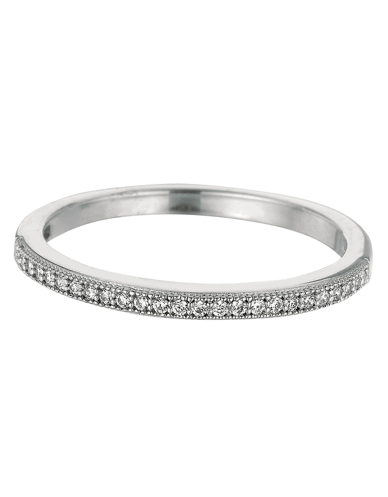 Pave CZ Eternity Band