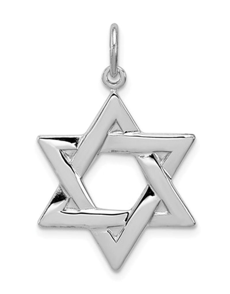 Star of David Charm 22mm