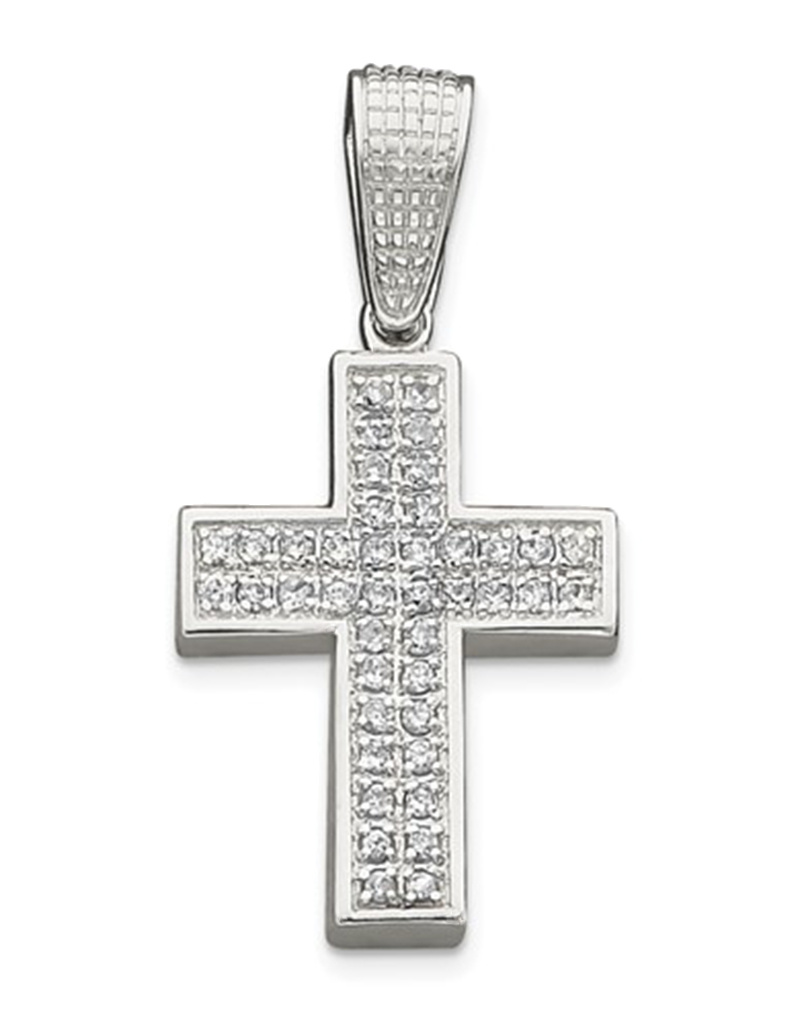 Cross CZ Pendant 58mm