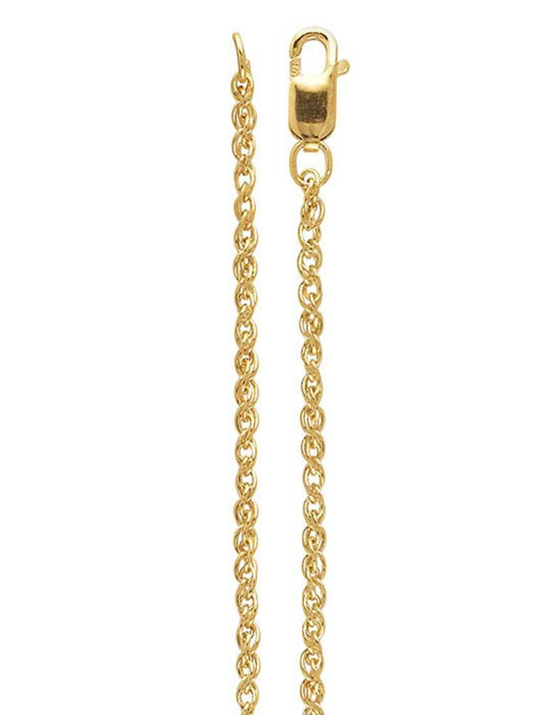 14k Gold Filled 1.6mm Wheat Chain Necklace
