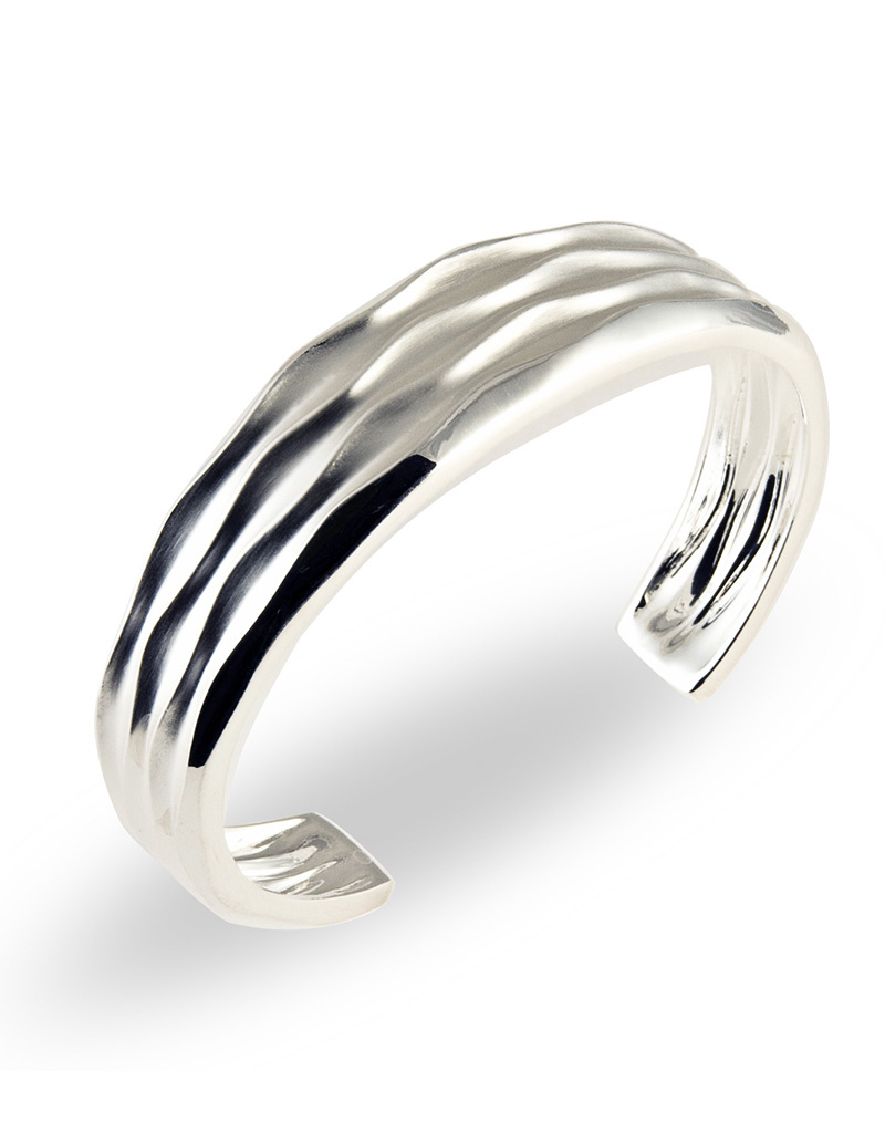 ZINA Desert Waves Tapered Cuff Bracelet
