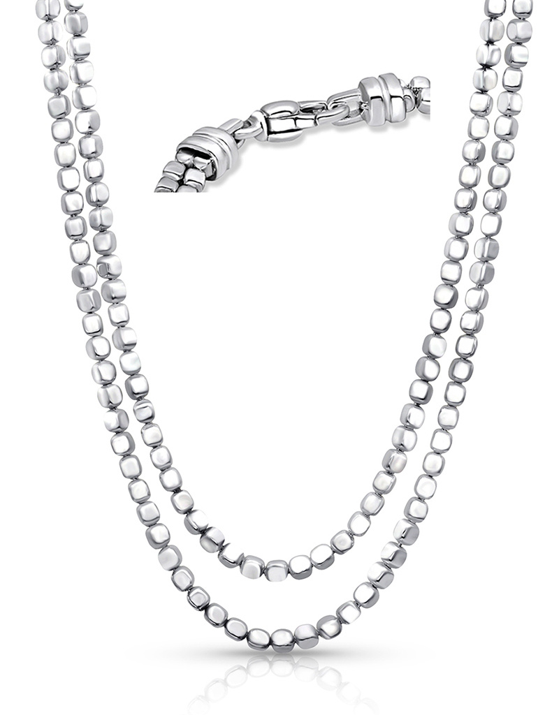 ZINA Ice Cube Necklace 17""