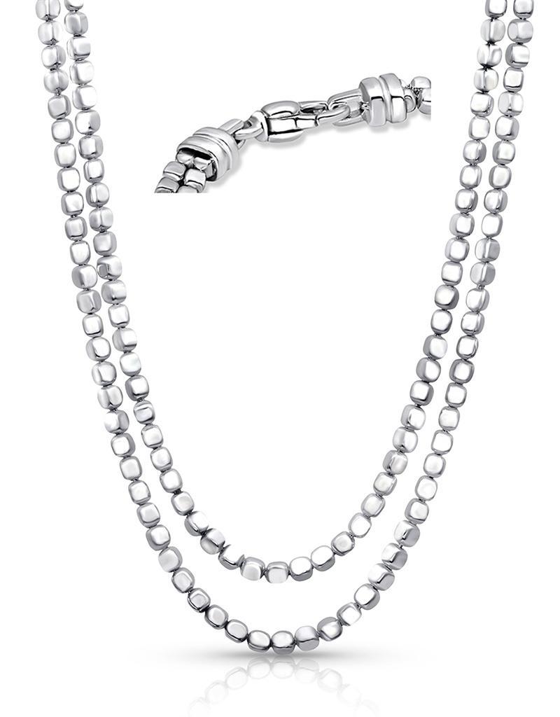 """ZINA Ice Cube Necklace 17"""""""