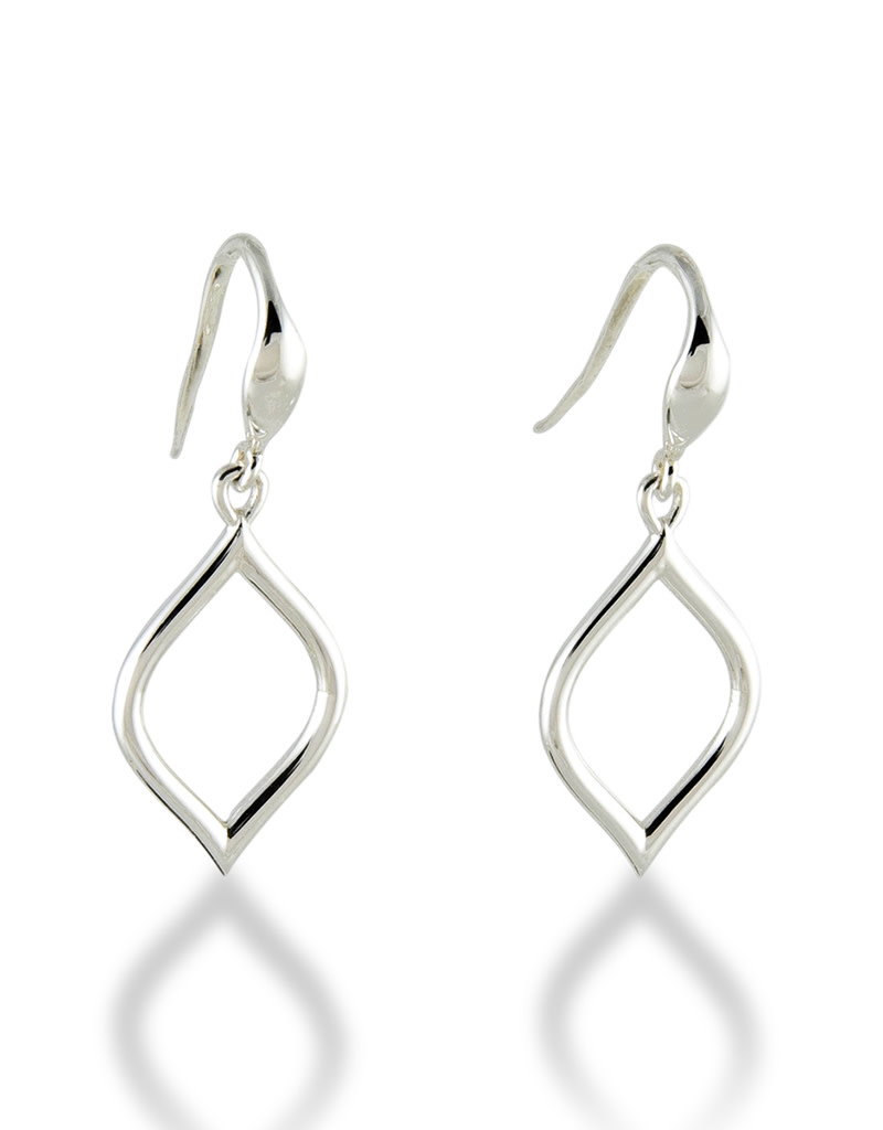 ZINA Wire Drop Earrings 22mm