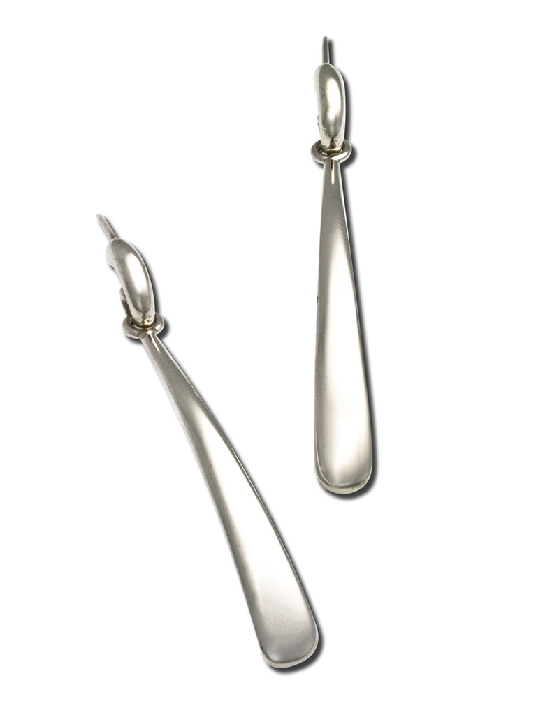 ZINA Long Drop Post Earrings 54mm