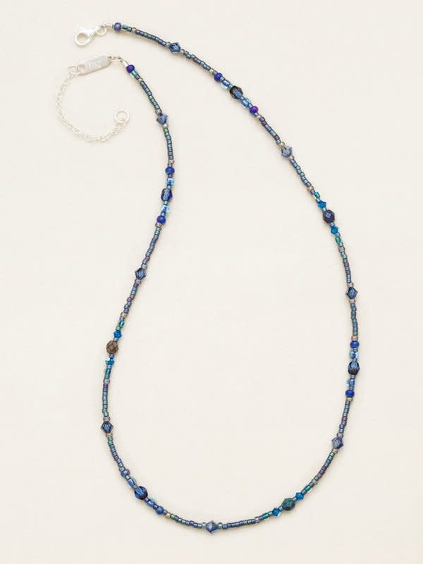 HOLLY YASHI Denim Sonoma Bead Necklace *18736