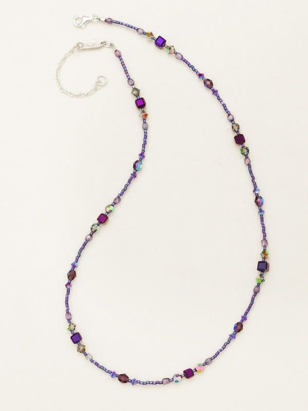 HOLLY YASHI Plum Sonoma Bead Necklace *18724