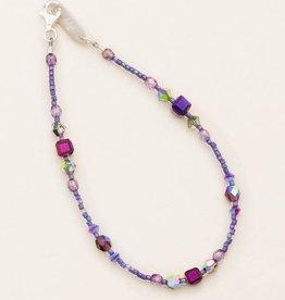 HOLLY YASHI Plum Sonoma Bead Bracelet *18824