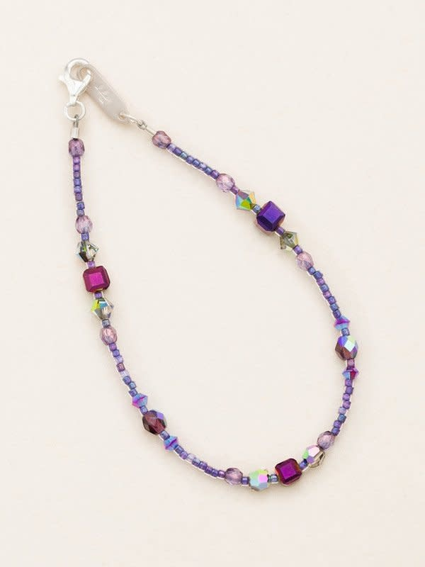 HOLLY YASHI Plum Sonoma Bead Bracelet *18824