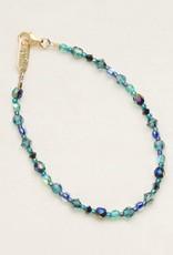 HOLLY YASHI Holly Yashi Blue Rainbow Reflections Bracelet *90190