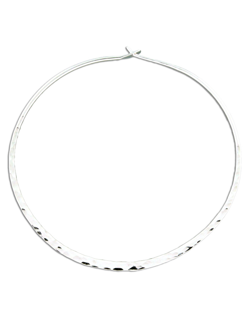 Hammered Hoop 60mm