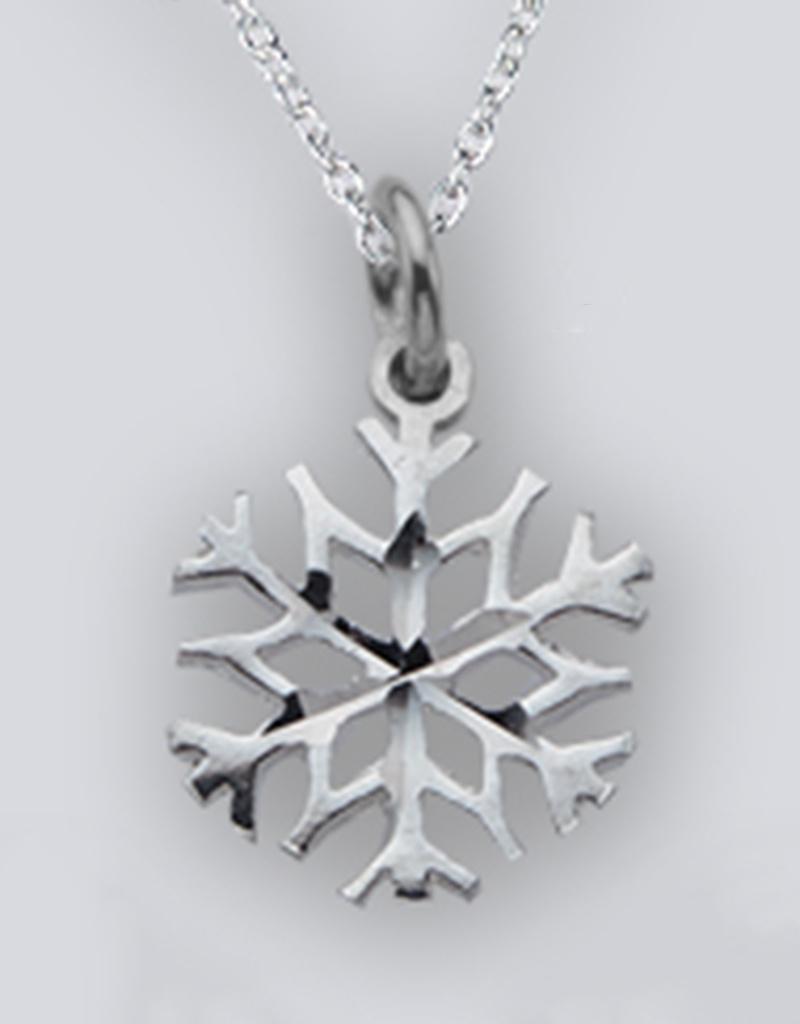 AZU Snowflake Charm 12mm