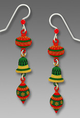 3-Part Christmas Ornament Earrings