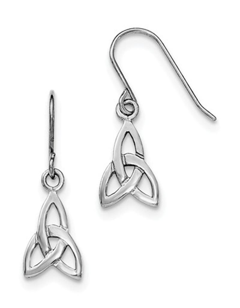 Celtic Trinity Knot Earrings 12mm