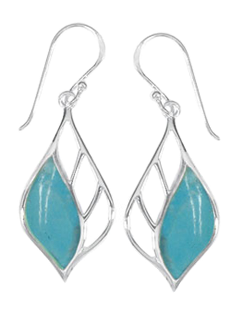 Turquoise Earrings 26mm