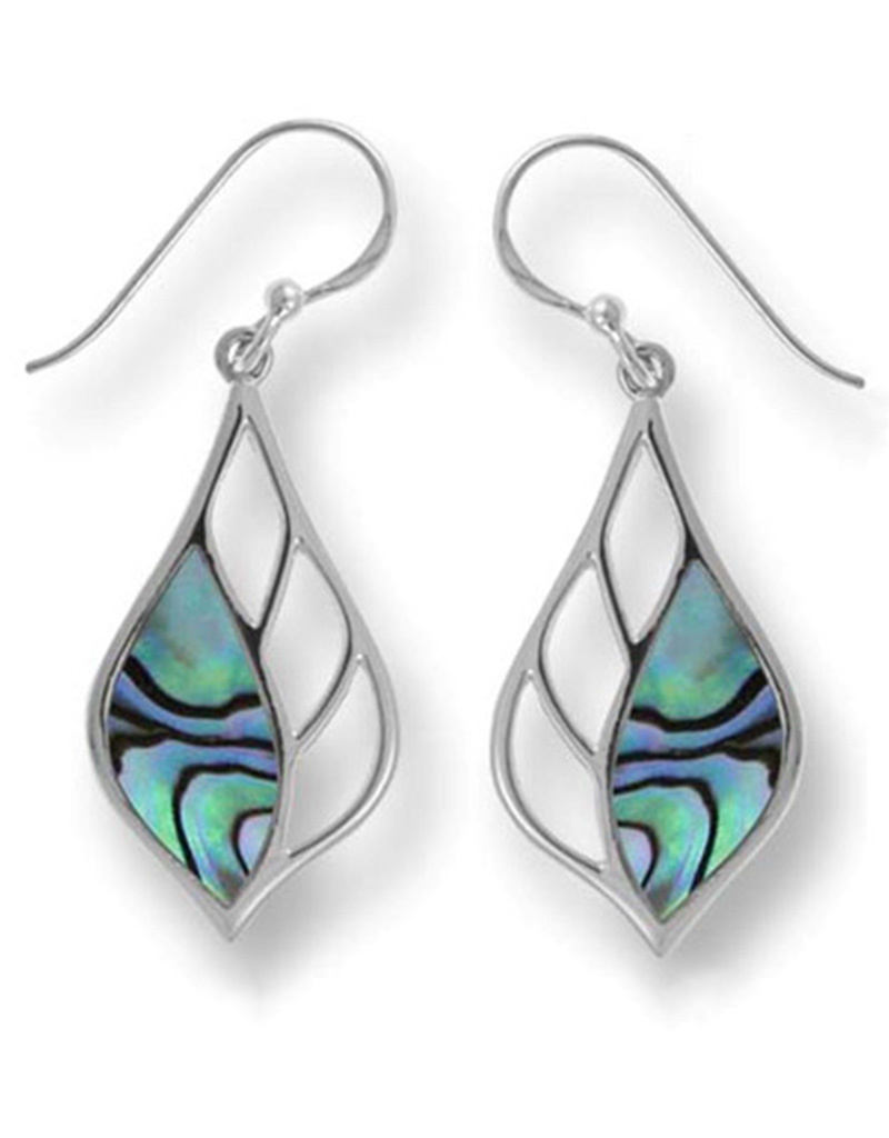 Abalone Earrings 26mm