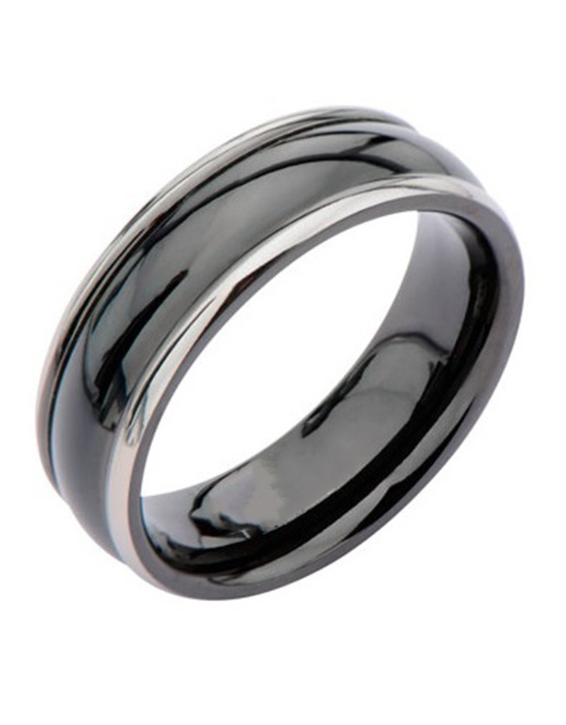 Black Titanium Band