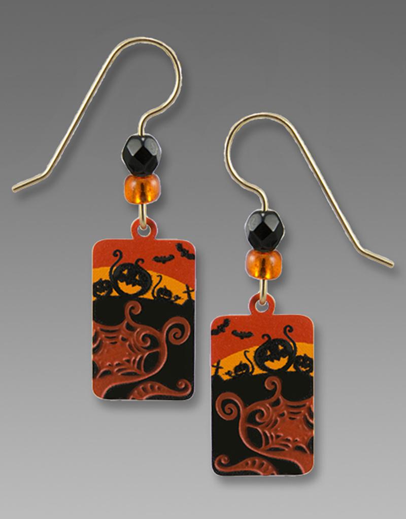 Halloween Scene Earrings