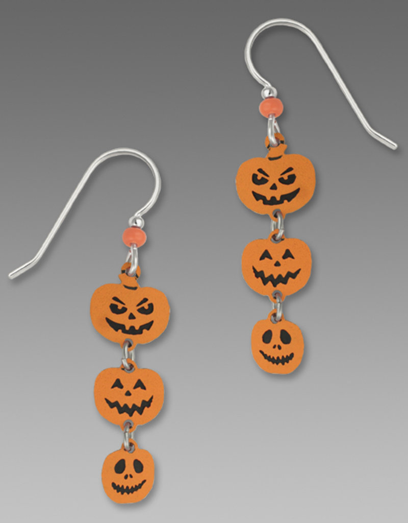 Triple Pumpkin Earrings