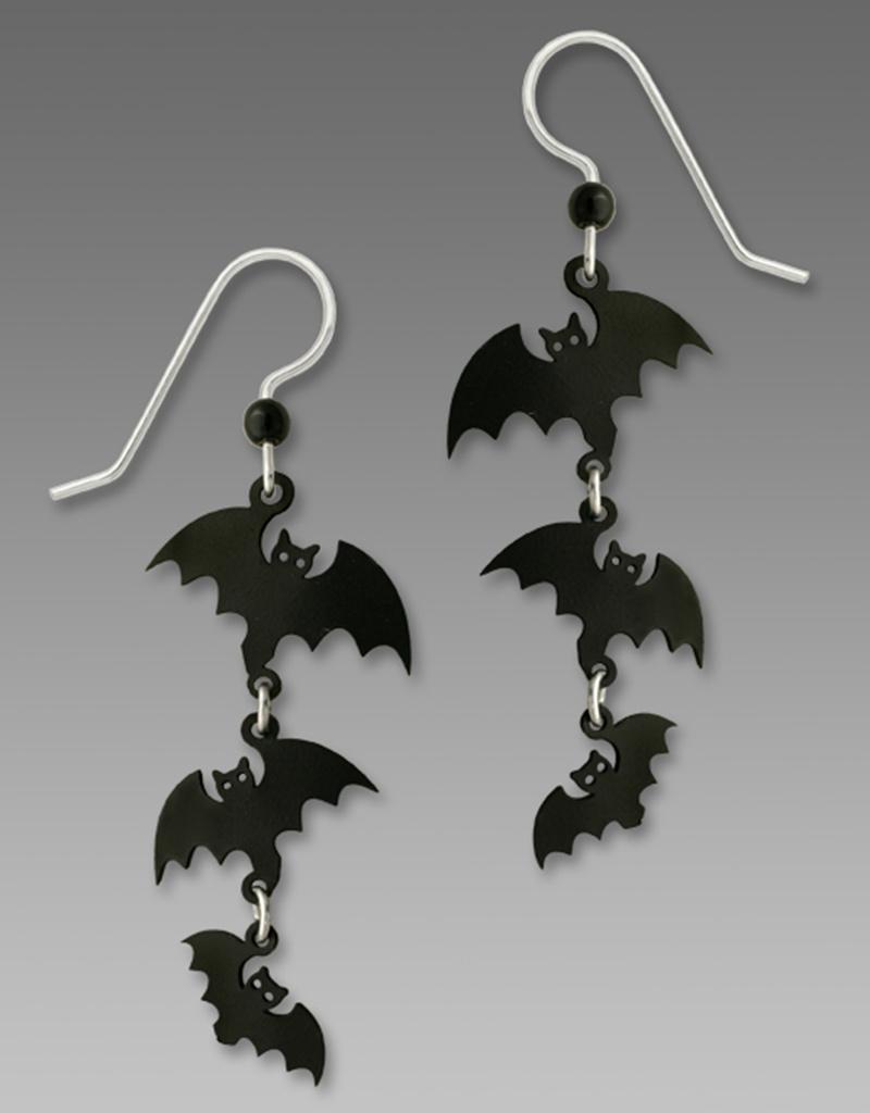 3-Bats Earrings