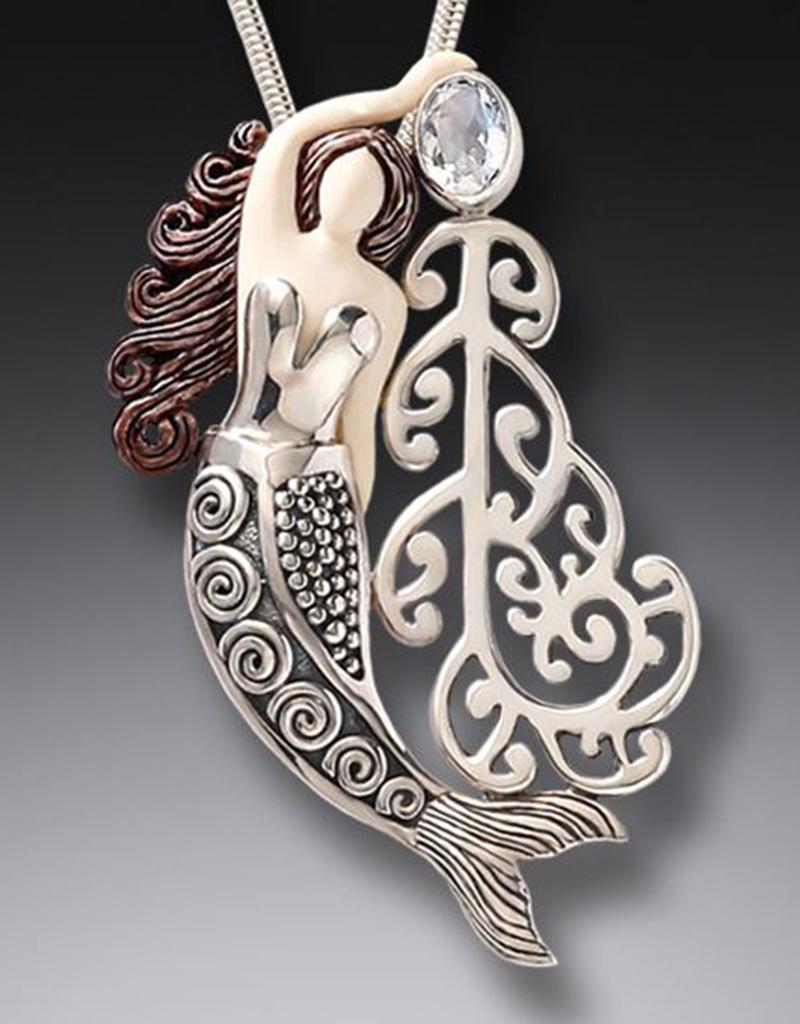 ZEALANDIA Koru Mermaid Pendant