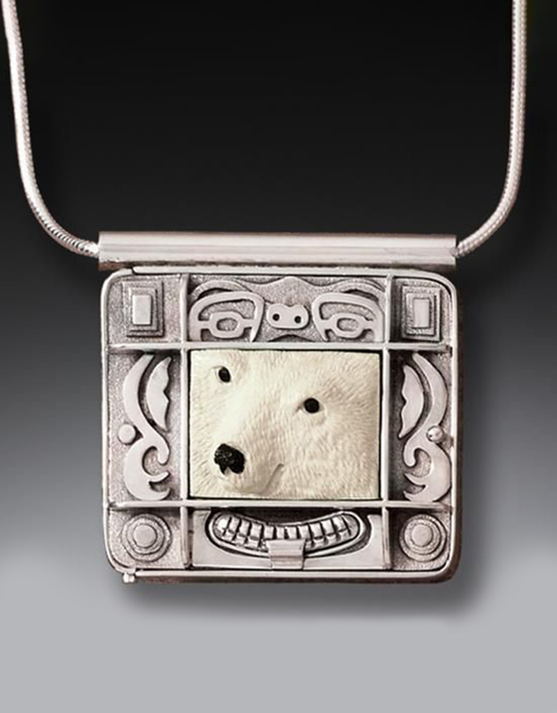 ZEALANDIA Polar Bear Spirit Locket