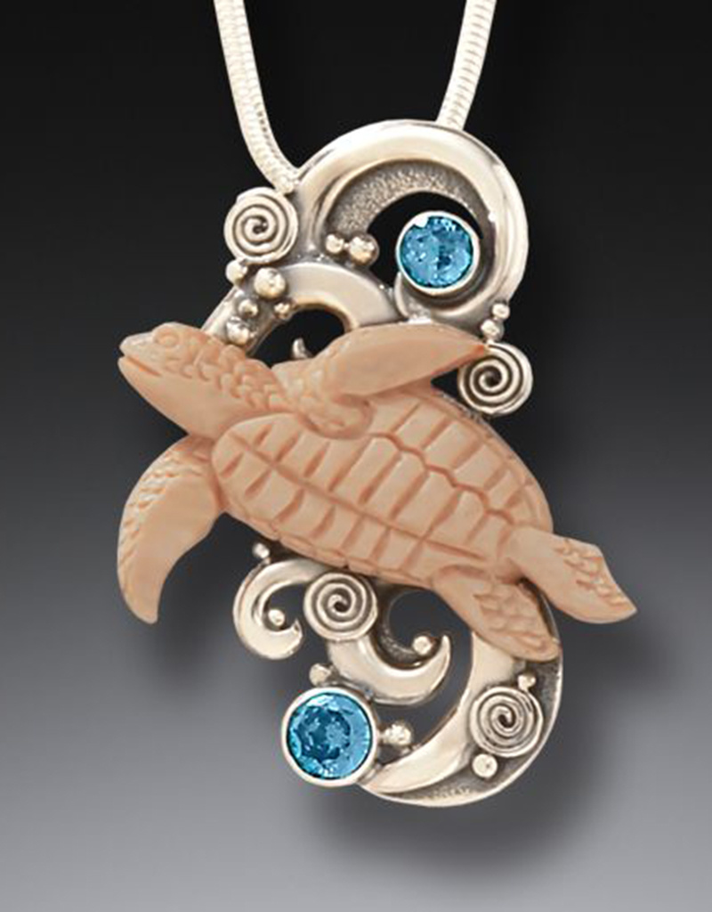 ZEALANDIA Turtle Spirit Pendant