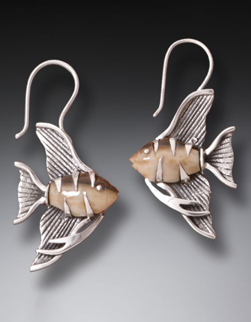 ZEALANDIA Angelfish Earrings