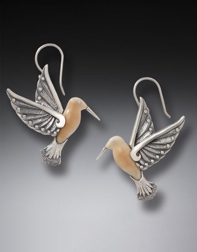 ZEALANDIA Hummingbird II Earrings