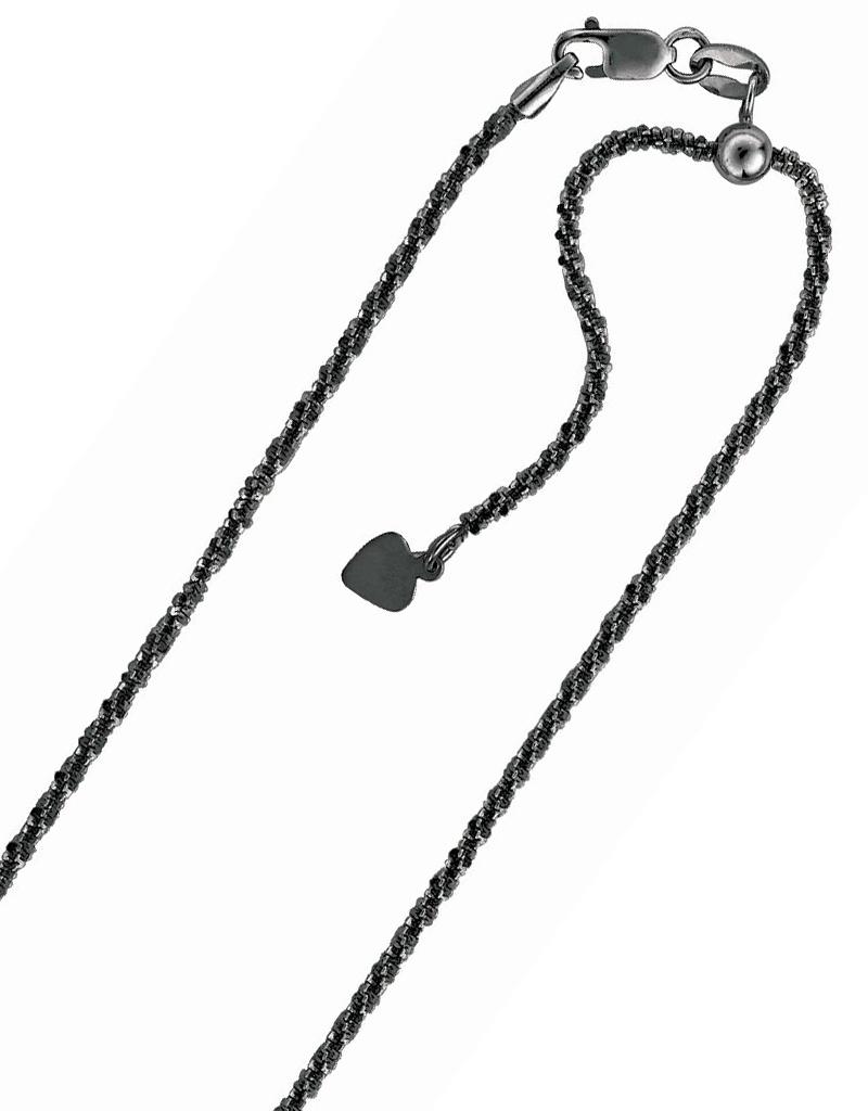 "Sparkle Chain Ruthenium 22"""