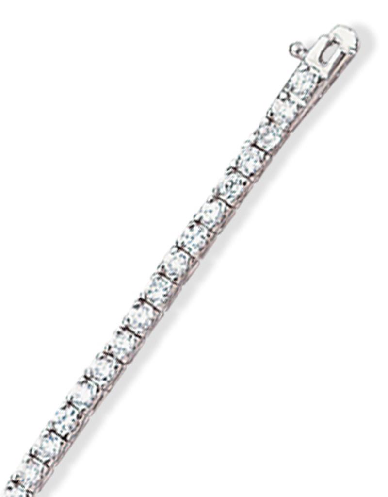 """Round CZ Tennis Bracelet 6.5"""""""