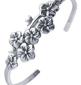 Floral Cuff Bracelet