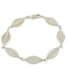 "ZINA Leaf Bracelet 7"""