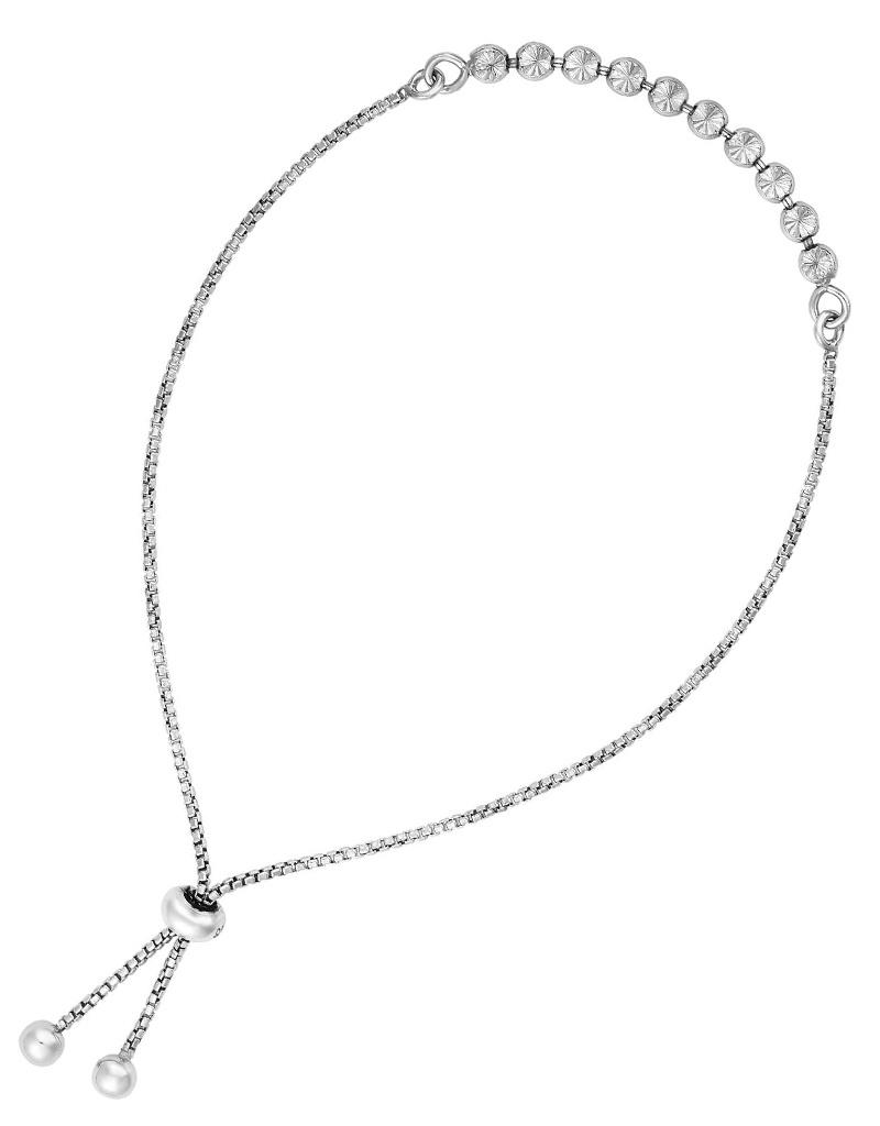 D/C Bead Bolo Bracelet