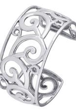 Women's Sterling Silver Filigree Cuff Bracelet