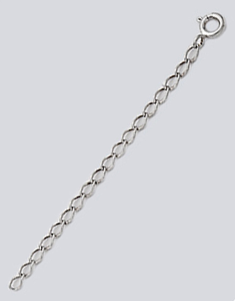 """Sterling Silver Necklace Extender 3"""""""