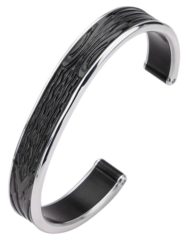 Spade Design Cuff Bracelet