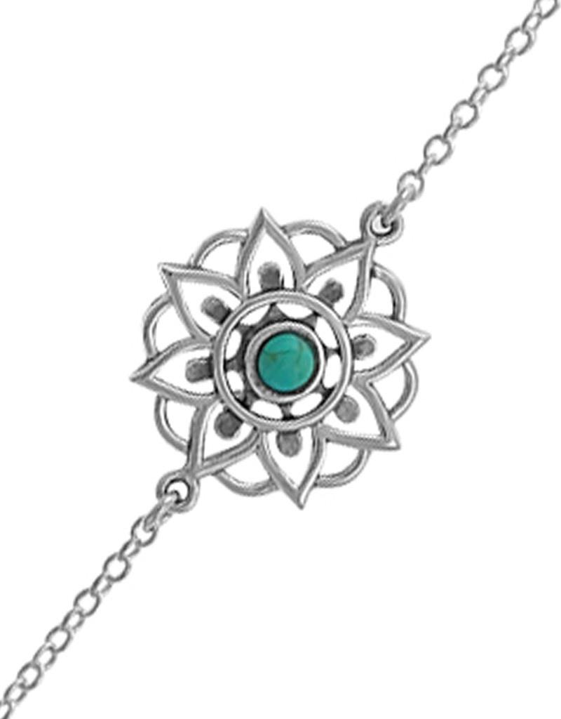 Filigree Turquoise Bracelet