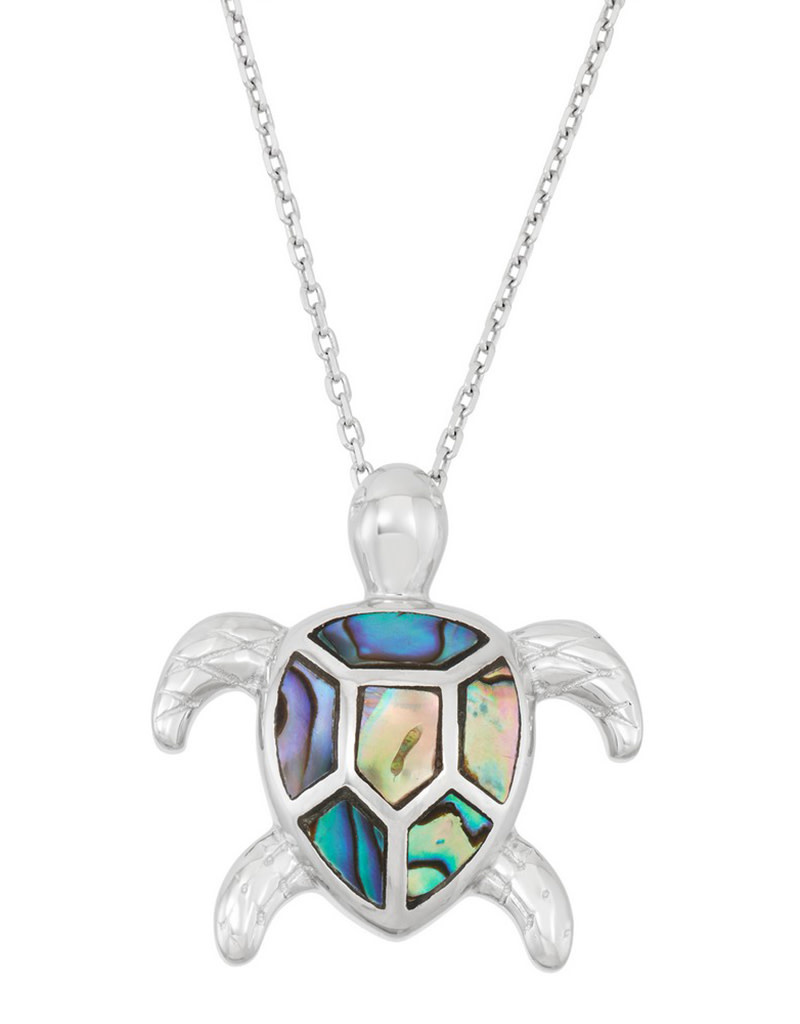 Turtle Abalone Necklace
