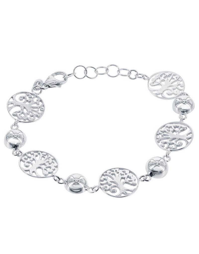 "Tree of Life Bracelet 6.5""+1"""