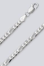 Sterling Silver Figaro 100 Bracelet