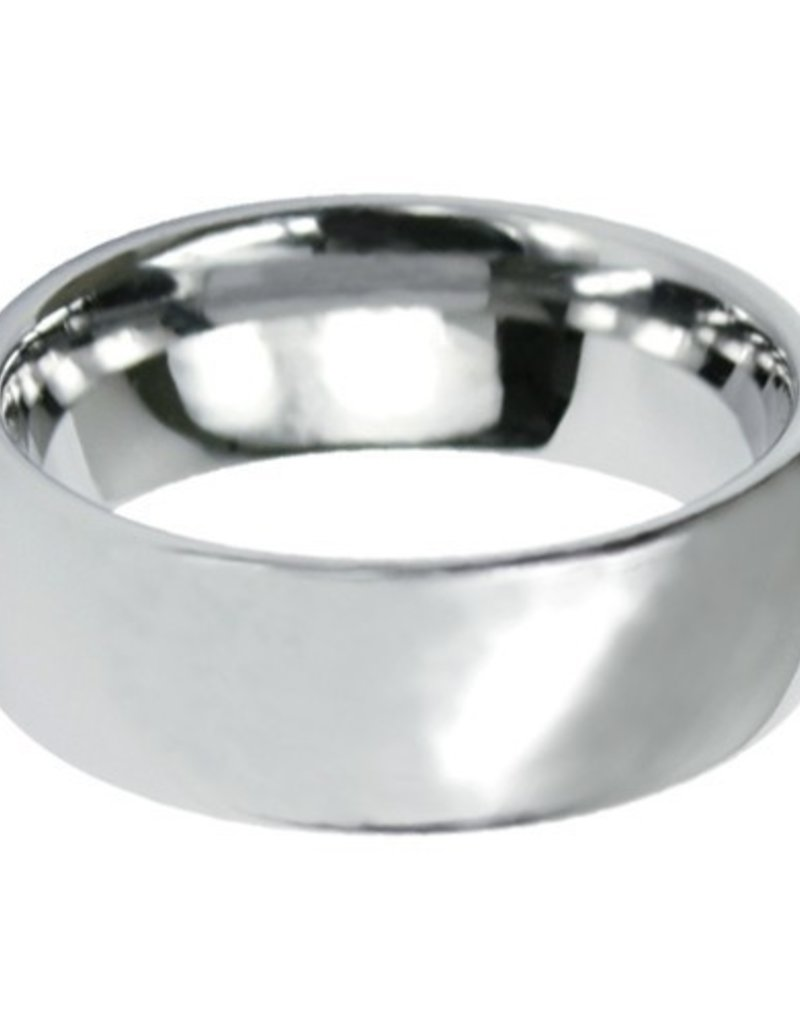 Men's Tungsten 8mm Wide Band Ring