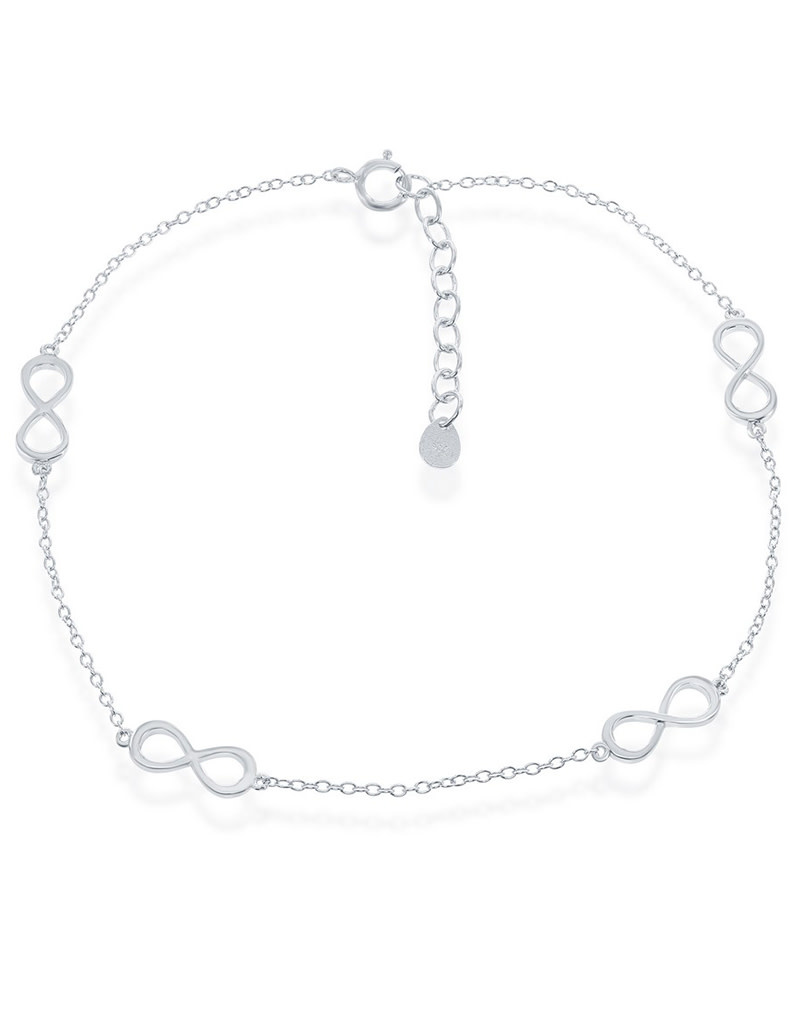"Infinity Anklet 9""+1"""